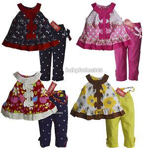 Nwt Gymboree Baby Girls Shirt Legging Headband Size 3 6 9 12 18 24