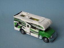 Matchbox Camper Van Caravan Tourer RV Green Camping Toy Model Car UB 70mm Long