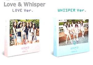Gfriend-Girlfriend-Parallel-Love-Ver-Whisper-Ver-CD-w-Booklet-64p-New