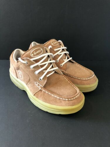 Vintage Guess Shoes 1990s Women's 8 Brown Suede