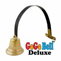 Dog Doorbell - Gogo Bell Deluxe With Solid Brass Bell For Loud ... Free Shipping