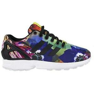 reputable site 016c6 1a55b Details about Mens ADIDAS ZX FLUX Black Trainers M21064