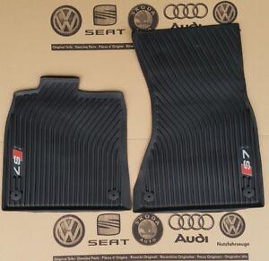 Original S7 Premium Gummi-Fußmatten Matten SET für Audi A7 und S7 4G