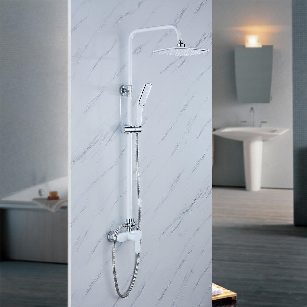 Set doccia Completo Colonna con soffione a pioggia doccino miscelatore DHL