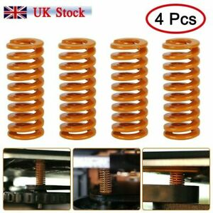 4 x Creality CR-10 Mini 10S Pro CR-X S4 CR 20 Ultimate Heated Bed Springs UK