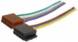 Autoradio-ISO-Auto-Radio-Stecker-Adapter-Kabel-Strom-Lautsprecher-DIN