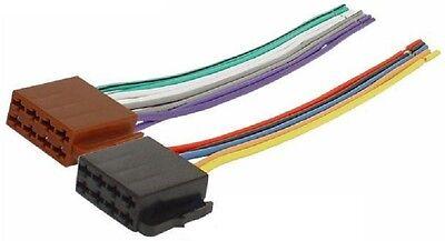 Autoradio ISO Auto Radio Buchse Adapter Kabel universal Strom Lautsprecher DIN