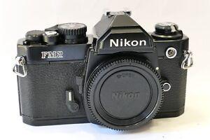 Nikon FM2n 35mm SLR camera body Rare All Black ver All OK CLA039d FM2 N - Shefford, United Kingdom - Nikon FM2n 35mm SLR camera body Rare All Black ver All OK CLA039d FM2 N - Shefford, United Kingdom