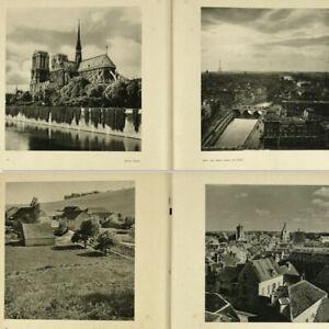 France-1940s-Photo-Book-w-200-gravures-Notre-Dame-Paris-Eiffel-Tower-Louvre