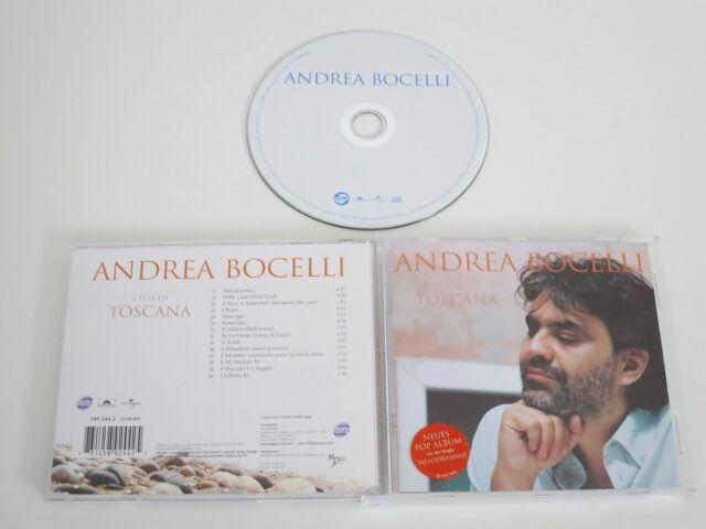 Andrea Bocelli/ Cieli di Toscana (Sugar Polydor 589 244-2) CD Album