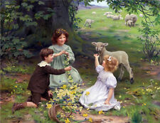The Joy of Spring    by  Arthur Elsley  Giclee Canvas Print Repro