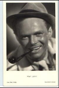 KARL-JOHN-Schauspieler-um-1950-60-Portraet-AK-Film-Foto-Verlag-Film-Buehne-Theater