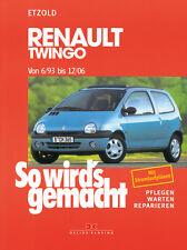 RENAULT TWINGO 1993-2006 MANUALE RIPARAZIONE SO WIRDS GEMACHT 95 MANUTENZIONE