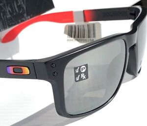 6f681ec86e NEW Oakley HOLBROOK Ruby Fade w POLARIZED PRIZM BLACK Lens Sunglass ...