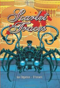 Scarlet-Traces-by-D-039-Israeli-Hardback-Book-The-Fast-Free-Shipping