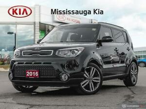 2016 Kia Soul SX LOCAL CUSTOMER ONE OWNER TRADE IN , LEATHER...