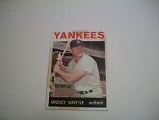 1964 Topps Mickey Mantle New York Yankees #50 Baseball Card