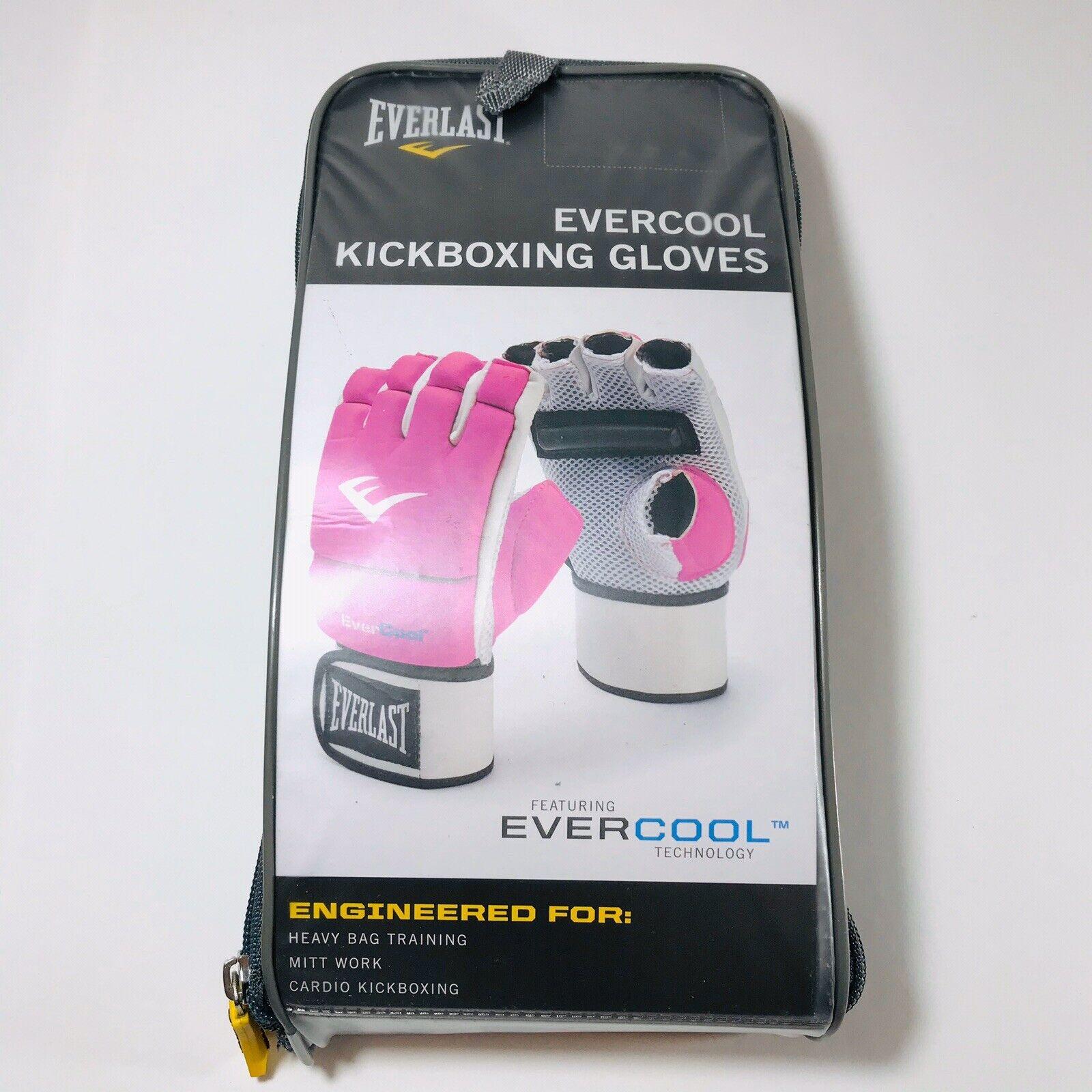 Everlast EverCool Women/'s Kickboxing//heavy bag Gloves pink 4 Oz one size