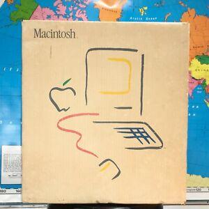 1984 APPLE MACINTOSH 128K 1st MAC Model M0001 PICASSO BOX
