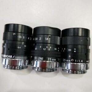 1pcs-Used-Good-for-PENTAX-C2514-M-25mm-1-1-4-Lens