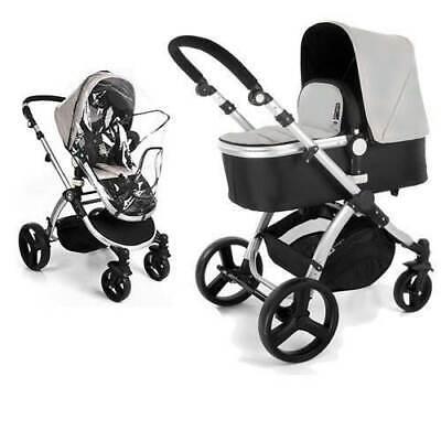 Baby Sonnenschirm kompatibel mit iCandy Kinderwagen Grau