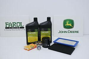 Genuine-John-Deere-Service-Filter-Kit-LG256-Ride-On-Lawnmower-X300-X304-X300R