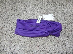 Calvin-Klein-Headband-Purple-Womens-NWT