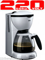 Braun 220 Volt Cafehouse Pure Aroma Kf 520 10 Cups Coffee Maker (non-usa Model)