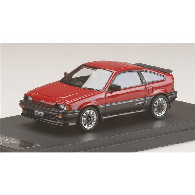 punto vendita MARK43 PM4384SR PM4384SR PM4384SR 1 43 Honda Btuttiade Sports CR-X Si AS With MUGEN CF-48 rueda rosso  scegli il tuo preferito
