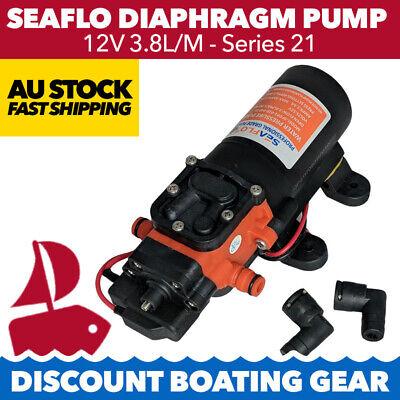 3.8L Water Pump 12V 35Psi Pump RV Caravav Camper Boat