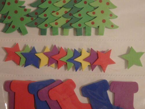 choix de 6 Noël Stickers