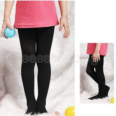 1-10 Ye Girl Solid Casual Stretchy Tights Stockings 13 Color Q432