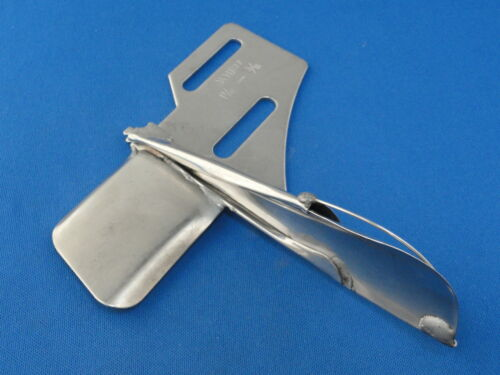 8mm FINISH SIZE STRAIGHT FOLDER FOR INDUSTRIAL SEWING WALKING FOOT MACHINE A5B