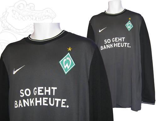 Nuevo Nike Werder Bremen Football Club Portero Gk Camisa Hecha  En Marruecos XXL  ventas directas de fábrica