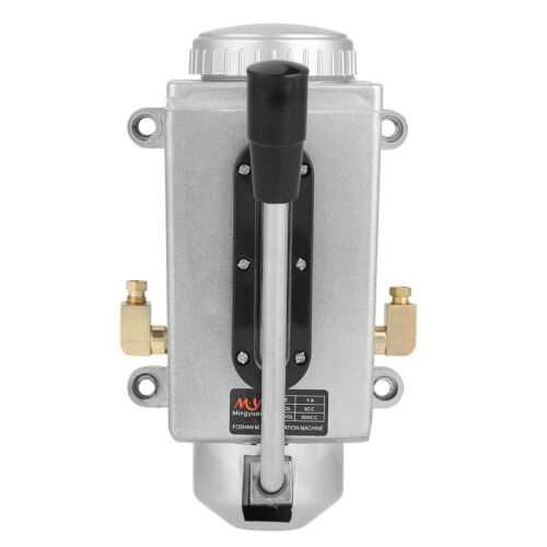 Manuell Schmierung Handölpumpe Handschmierung 500CC CNC Doppelauslassöffnung ♤