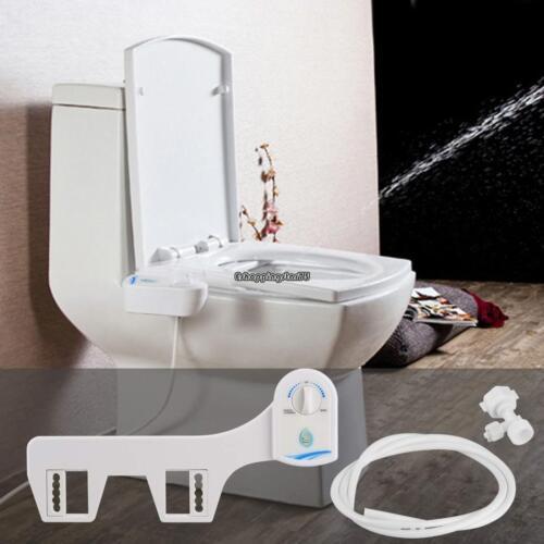 Non-electric Adjustable Angle Bidet Toilet Seat Attachment Cold Water Nozzle New