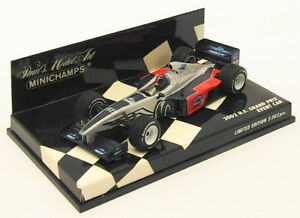 MINICHAMPS-1-43-scale-model-voiture-AC4-020301-F1-US-GRAND-PRIX-EVENT-CAR-2002