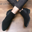 UK-Mens-Formal-High-Top-Chelsea-Ankle-Boots-Shoes-Faux-Suede-Casual-Shoes-Chukka thumbnail 9