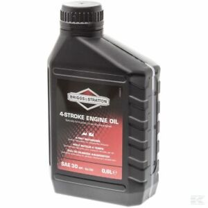 Genuine-Briggs-amp-Stratton-0-6L-4-Stroke-SAE30-Engine-Oil-100005-E-Lawnmower