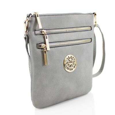 85e4497482ff4 Ladies Zip Small Cross Body Messenger Bag JM834-1 Women Shoulder GIrls Side  Bags | eBay