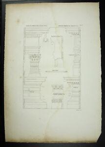 Grandjean-De-Montigny-1813-ROM-Grab-von-mit-Castali-amp-J-Arberini-Italien