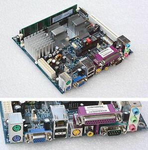 MICRO-ITX-MOTHERBOARD-EPIA-ME6000-65-EM600N00-B0-FUNLESS-CPU-RAM-LPT-RS-232-M88
