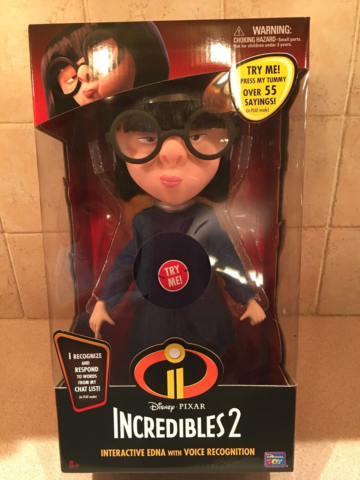 Den otroliga 2 Edna Interaktiv docka med röstigenkänning
