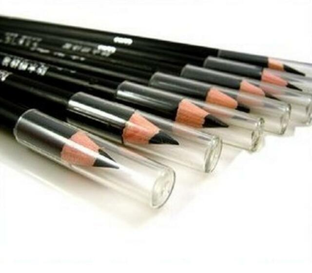 WOUS New 2Pcs EyeLiner Smooth Waterproof Cosmetic Beauty Makeup Eyeliner Pencil