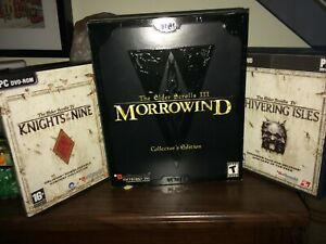 Morrowind-Collector-039-s-Edition-Knights-of-the-9-Shivering-Isles