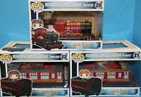 Funko Pop Vinyl Set Of 3 Harry Potter Hogwarts Express Train 20,21 & 22