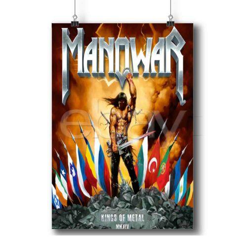 Manowar Kings Of Metal Custom Personalized Wall Decor Art Poster Print