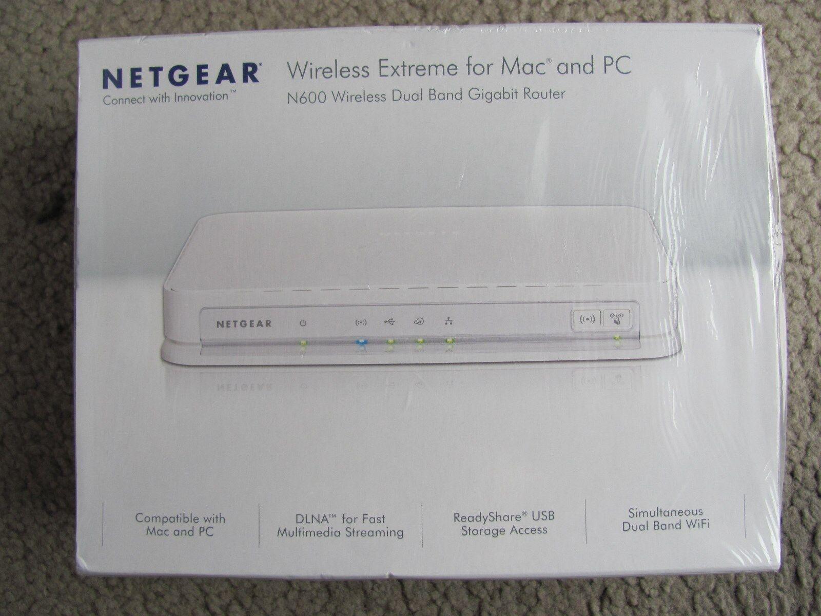 Netgear WNDRMAC 300 Mbps 4-Port Gigabit Wireless N Router (WNDRMAC ...