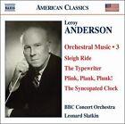 Leroy Anderson: Orchestral Music, Vol. 3 (CD, Jun-2008, Naxos (Distributor))