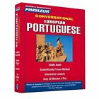 Pimsleur Portuguese (European) Conversational Course - Level 1 Lessons 1-16 CD: Learn to Speak and Understand European Portuguese with Pimsleur Language Programs by Pimsleur (CD-Audio, 2015)